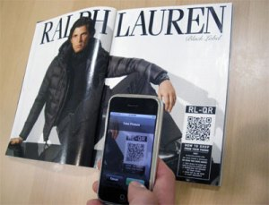 QR Codes on Ad campaign