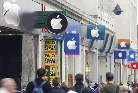 Apple iTunes – the only place to shop… literally?