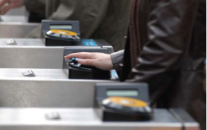 NFC-enabled Oyster cards