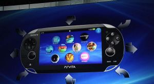 Sony Playstation Vita touch-sensitive panels