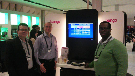The Bango pod at BlackBerry DevCon Europe 2012
