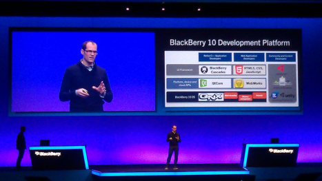 BlackBerry 10 OS focusing heavily on HTML5