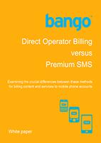 Direct Operator Billing vs Premium SMS