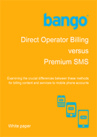 Direct Operator Billing vs Premium SMS
